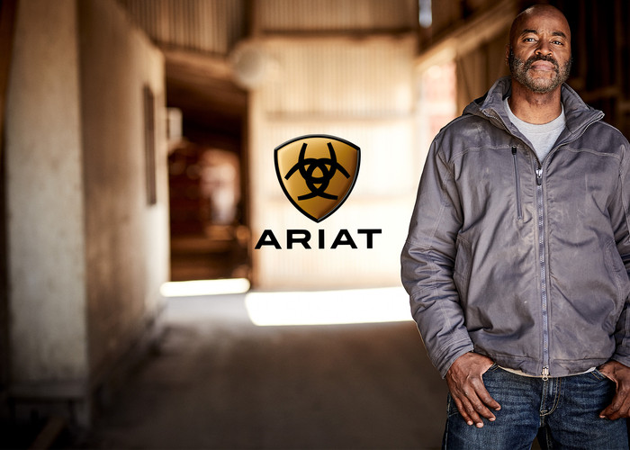 Ariat Work Print Ad Model FORD Models
