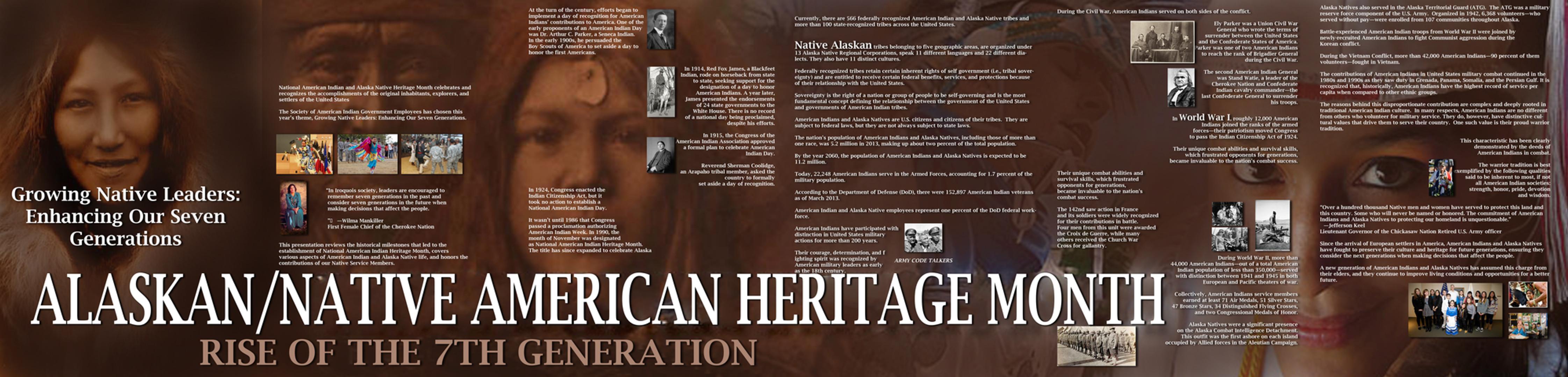 Alaskan/Native American Heritage