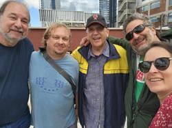 Jack Barton, Brad Savage, Jeff Cook, Fish Fishman, Ellie Sanders