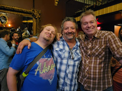 Brad Savage, Fish, & Geno Pearson