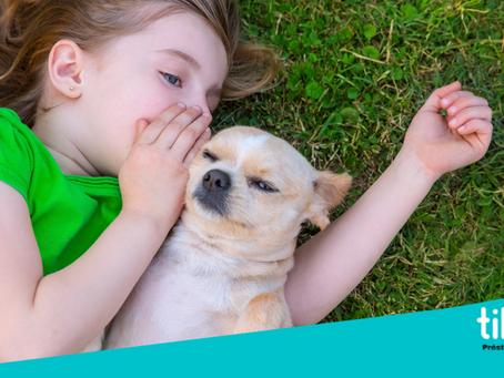 Los beneficios del vínculo entre niños y perros. By Tibiboo-Préstame tu perro.