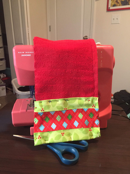 Christmas towel - Fall 2018