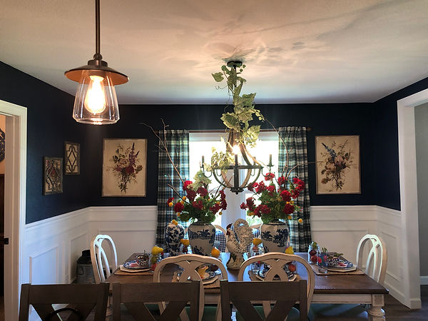 Dining Room  with table and home decor