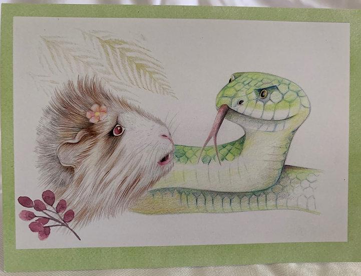 Greeting Card - Savannah & Nacash