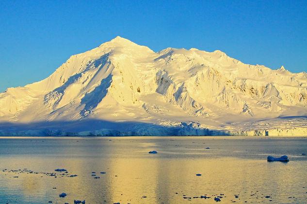 Antarctic Landscape. Antarctica wildlife photography tour