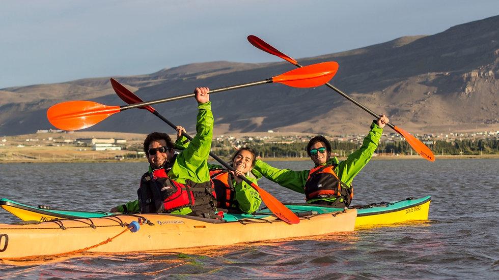 PROMO 4 noches  2 pax + Kayak  en Lago Argentino