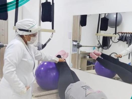 Fernanda Melo e a beleza de ser fisioterapeuta