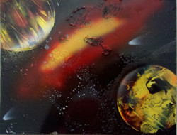 Space Spraypaint