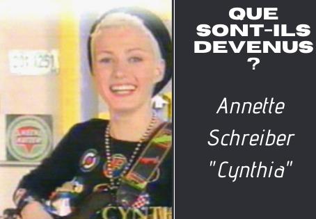 Que sont-ils devenus ? Annette Schreiber