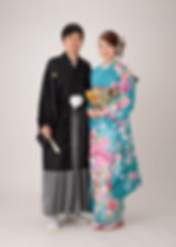 premium studio couple furisode montsuki hakama
