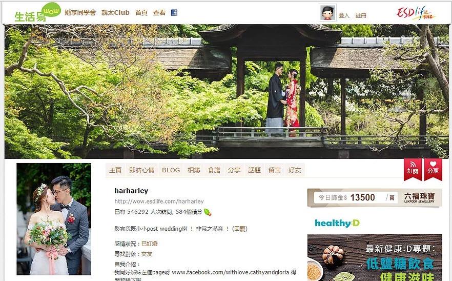 famous blogger hong kong
