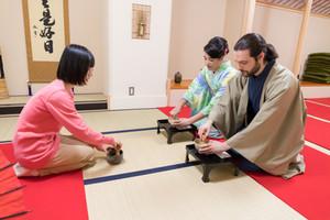 Matcha Tea Experience at Jinmatsu-an