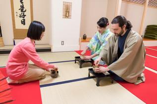 Expérience thé matcha à Jinmatsu-an