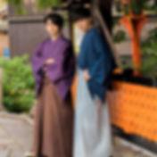 kimono hakama homme samourai location pas cher kyoto yumeyakata oike chateau nijo palais impérial
