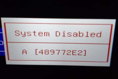 HP 8 digit bios master password unlock