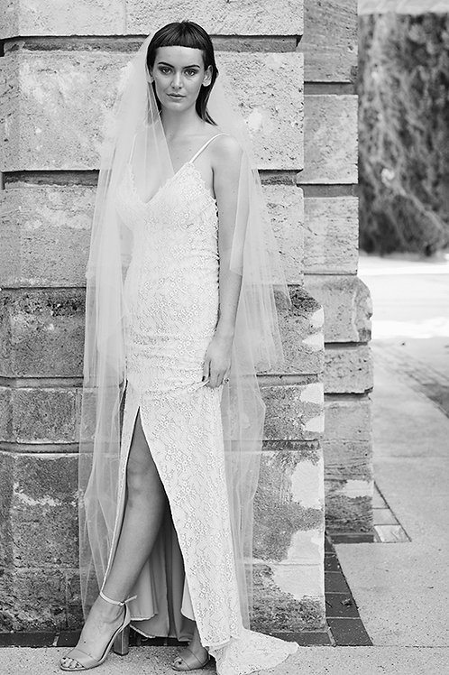 Clara Lace Gown