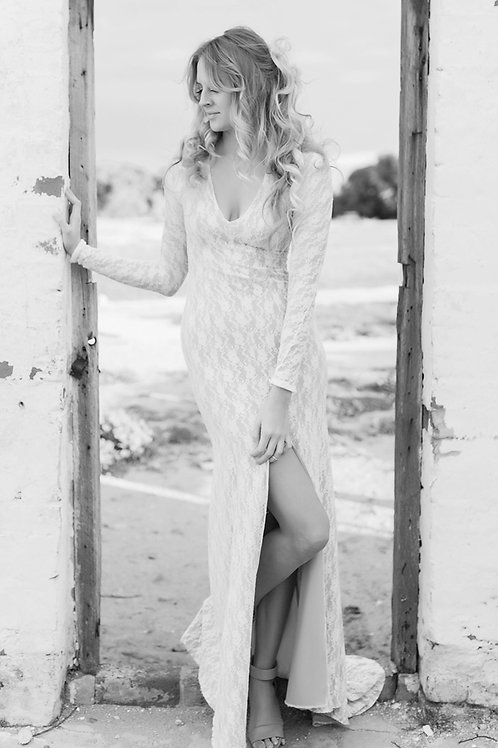 Jean Lace Gown