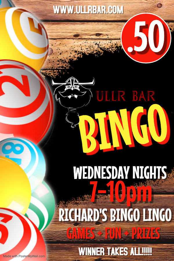 Copy of Bingo Poster - Made with PosterM