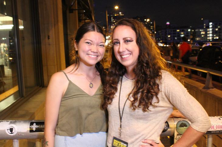 With Rachel Andie