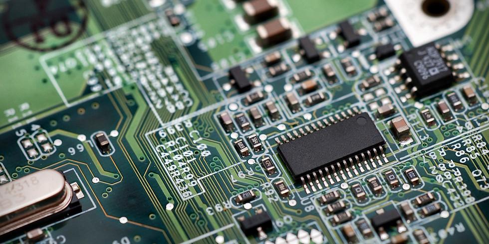 Electronic drawing board