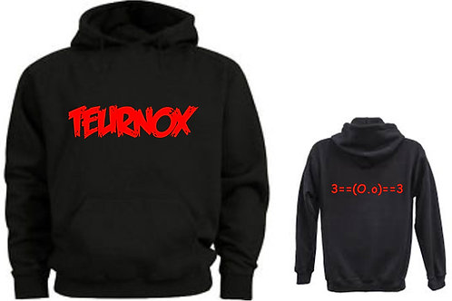 Teurnox Hoodie Extended Size Big and tall sizes 2x 3x 4x