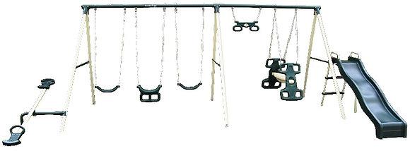 Parque de Metal para 9 Niños