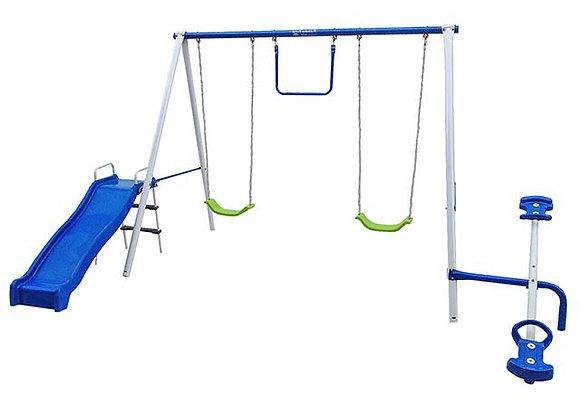 Parque de Metal para 6 Niños