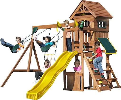 Parque de Madera para 8 Niños