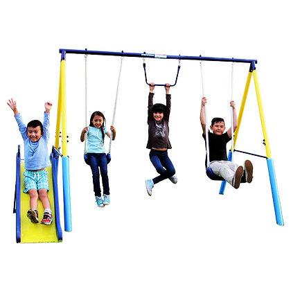 Parque de Metal para 4 Niños
