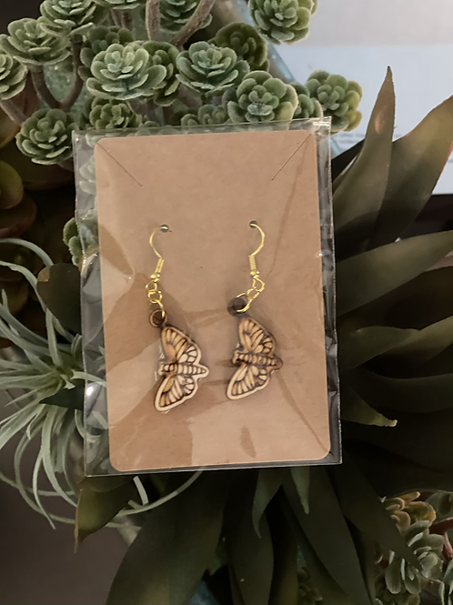 Moth earings