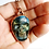 Thumbnail: Carved Labradorite Skull Necklace