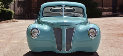 Poor Man's Zephyr 1946 business coupe