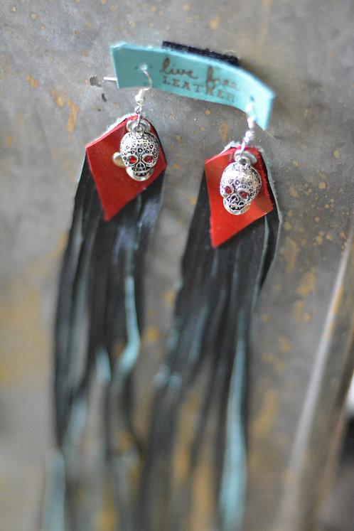 Super long Fringed earrings
