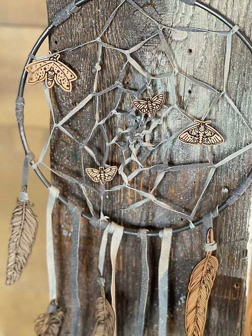 Flying at night dream catcher