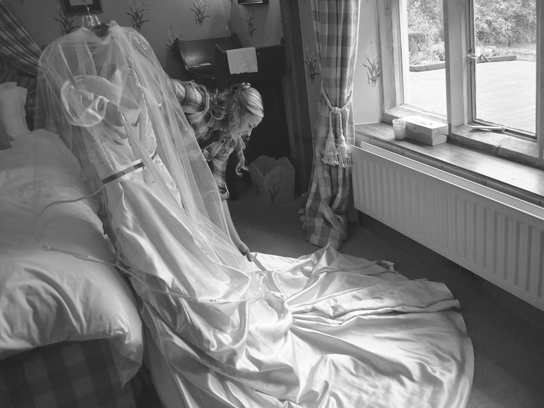 Organising the dress