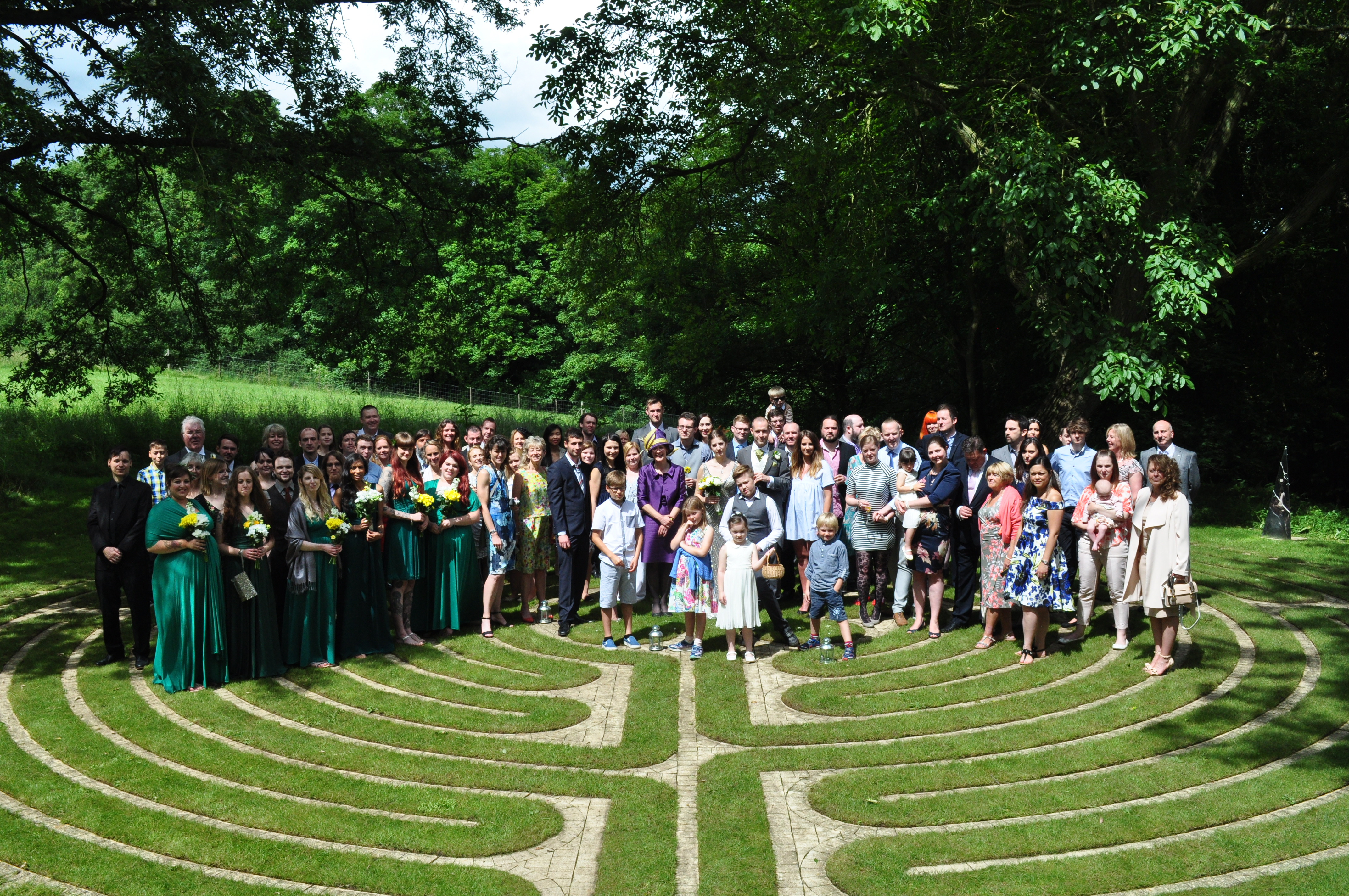 DSC_Guests gather on the Labyrinth