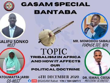 """GASAM is back with its monthly special """"Bantaba""""."""