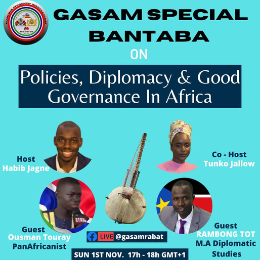 """News: GASAM is back with its monthly special """"Bantaba"""""""