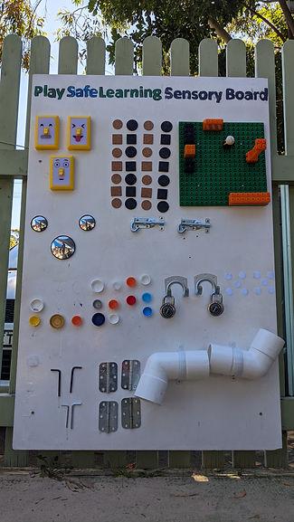 PlaySafeLearning Sensory Board