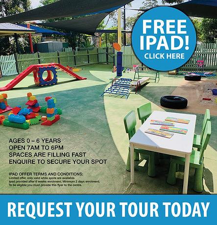 PlaySafeLearnig Free iPad with evey new enrolment