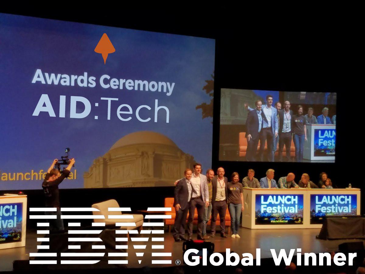 IBM No. 1 Global Startup 2017