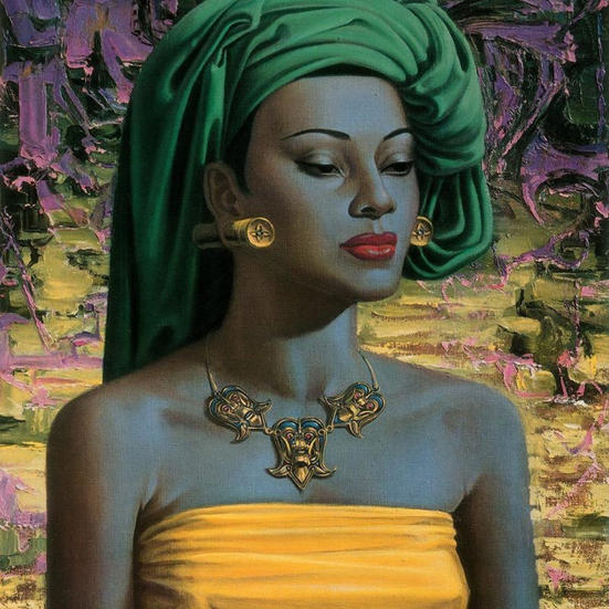 Title: Balinese Girl by Vladimir Tretchikoff