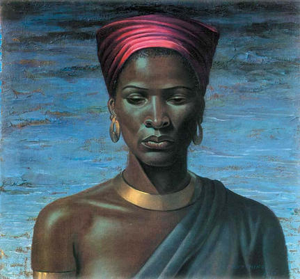 Title: Zulu Girla by Vladimir Tretchikoff