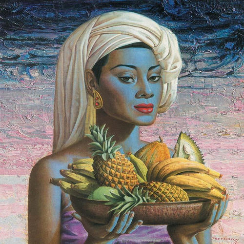 Title: Fruits of Bali by Vladimir Tretchikoff
