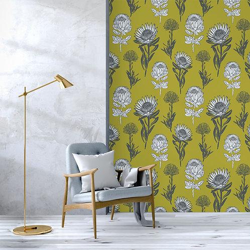 king sugar | protea green sheen