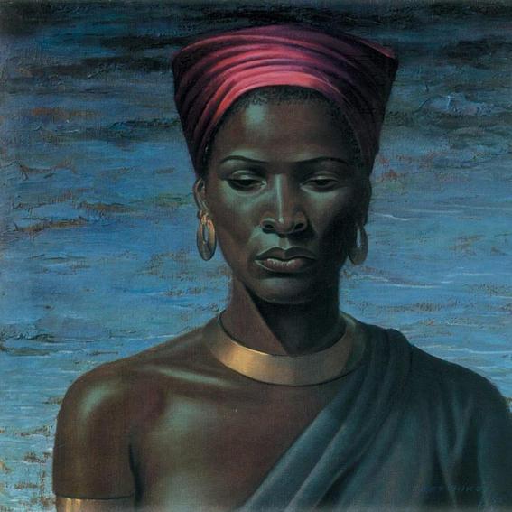 Title: Zulu Girl by Vladimir Tretchikoff