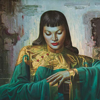 Title: Lady From Orient by Vladimir Tretchikoff