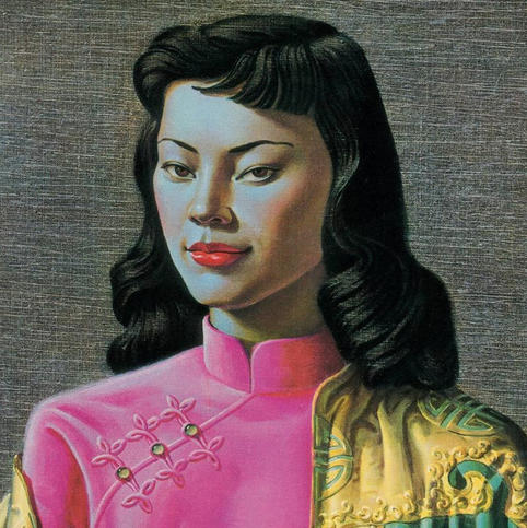 Title: Miss Wong by Vladimir Tretchikoff