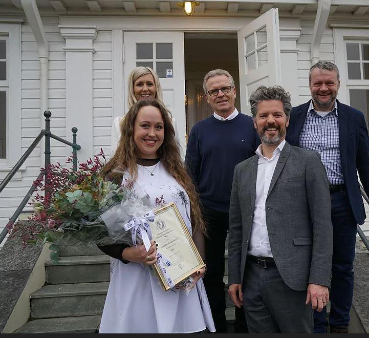Harpa Rún Kristjánsdóttir hlaut Bókmenntaverðlaun Tómasar Guðmundssonar 2019