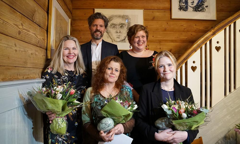 Unnur JÖkulsdóttir, Dagur B.Eggertsson, Kristín Helga Gunnarsdóttir og Kristín Eiríksdóttir